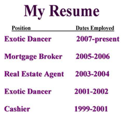 Current Job Resume Past Present Tense